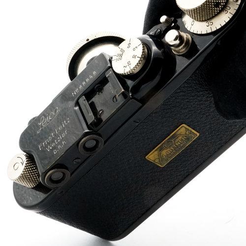 Leica II, Model D + 5cm f/2.5 Nickel Hektor