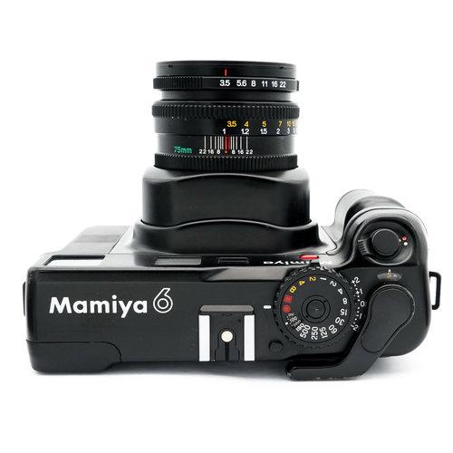 Mamiya 6 + 75mm f/ 3.5 L