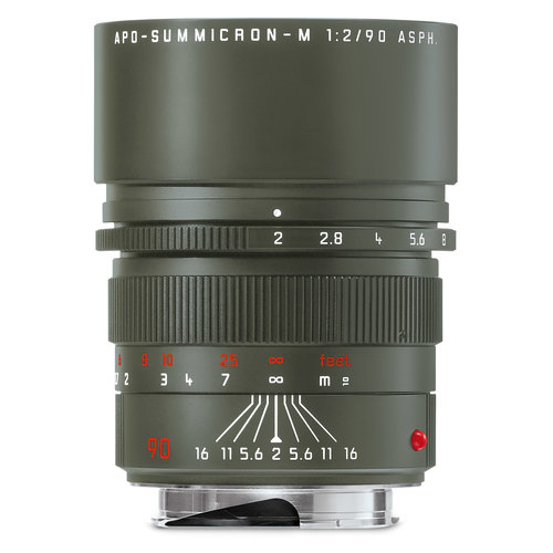 "Leica 90mm APO-SUMMICRON-M f/2 ASPH. EDITION ""SAFARI"""