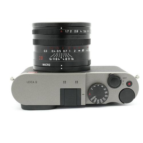 Leica Q (Typ 116) Titanium Grey