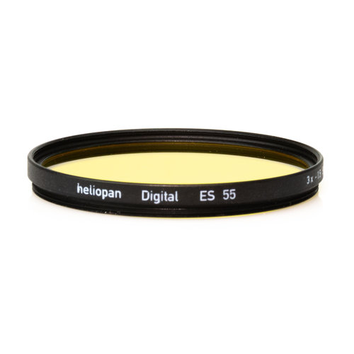 Heliopan E55 Yellow Filter