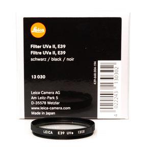 Leica E39 UVa II, Black Filter