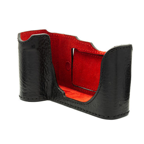 Angello Pelle Half Case, leather, black Leica SL x1119