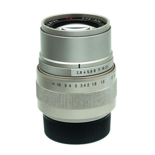 Contax 90mm f2.8 Sonnar T* 7751504 x1131