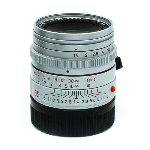 Leica 35mm f/1.4 Summilux ASPH. Silver Chrome