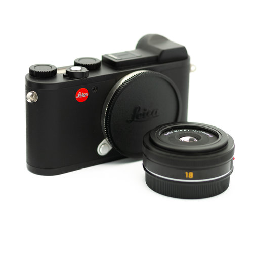 Leica CL + 18mm f/2.8 Prime Kit