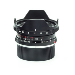 Voigtlander 15mm f/4.5 Super Wide Heliar