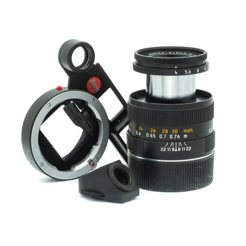 Leica MACRO SET M (90mm f/4, Angle Finder M, Macro-Adapter M)