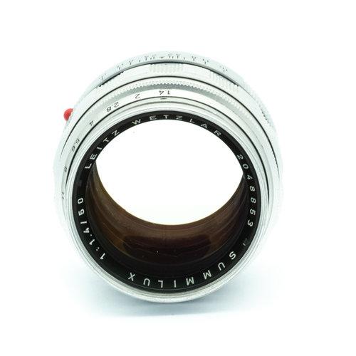 Leica 50mm f/1.4 Summilux (Mk1) + 12521G hood