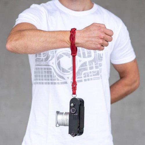 Cooph GmbH One Piece Leather Wrist Strap