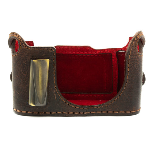 Angello Pelle Q Protector, Brown (with grip)