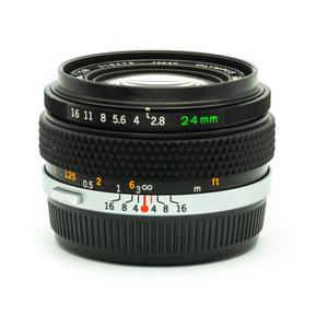 Olympus 24mm f2.8 Zuiko OM