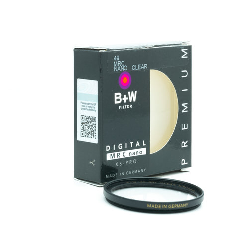 B+W E46 MRC Nano Clear, Filter