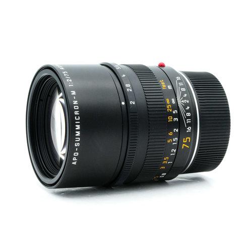 Leica 75mm f/2 APO-Summicron-M (6BIT)