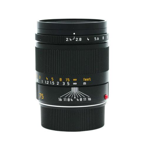 Leica 75mm f/2.4 Summarit M 6BIT