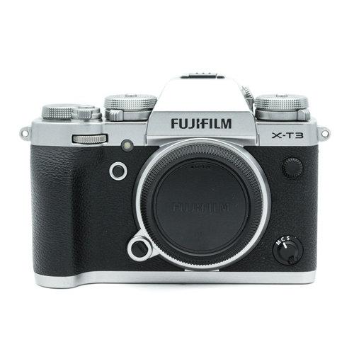 Fuji X-T3, Silver