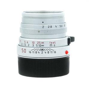 Leica 50mm f/2 Summicron, Silver Chrome