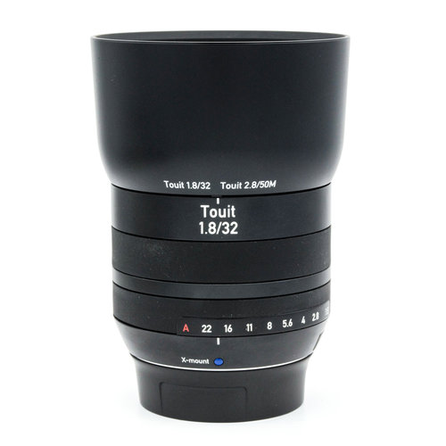 Zeiss 32mm f1.8 Touit, X-mount