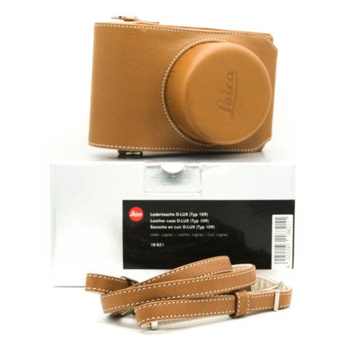 Leica Leather Case D-Lux (typ 109), Cognac (18821)