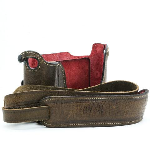 Leicatime Luigi Case, Vintage Brown (typ 116)