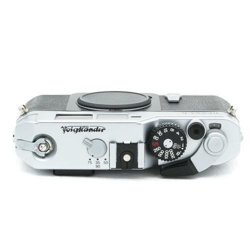 Voigtlander Bessa R, Silver Chrome 00119411 x1527/1