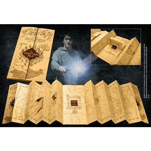 The Noble Collection Harry Potter Marauder's Map