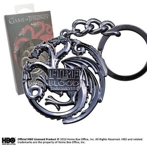 Game Of Thrones: Targaryen Sigil Key Chain