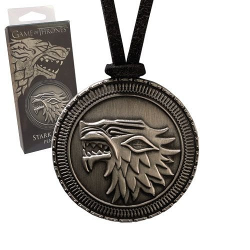 The Noble Collection Game of Thrones Pendant Stark Shield