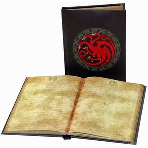 SD Toys Game of Thrones: Targaryen Notebook with light
