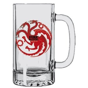 SD Toys Game of Thrones: House Targaryen - Fire and Blood Stein