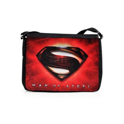 Man Of Steel Shoulder Bag Logo red