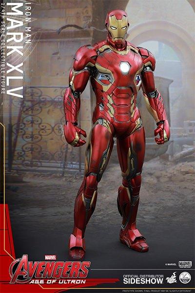 Sideshow The Avengers: Age of Ultron: Iron Man Mark XLV Quarter Scale Figure