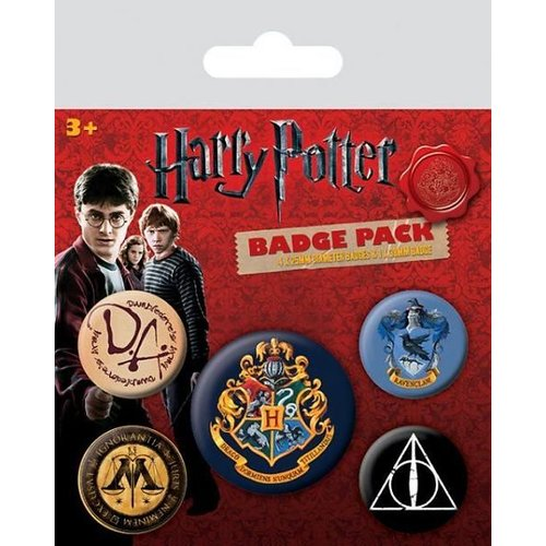 Hole In The Wall Harry Potter: Hogwarts Buttons