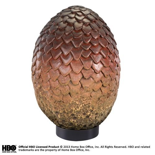 The Noble Collection Game of Thrones: Drogon Egg Replica
