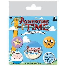 Hole In The Wall Adventure Time - Badge Packs Buttons