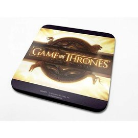 Game Of Thrones Opening Logo - Coaster