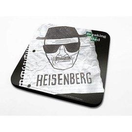Breaking Bad Heisenberg paper - Coaster