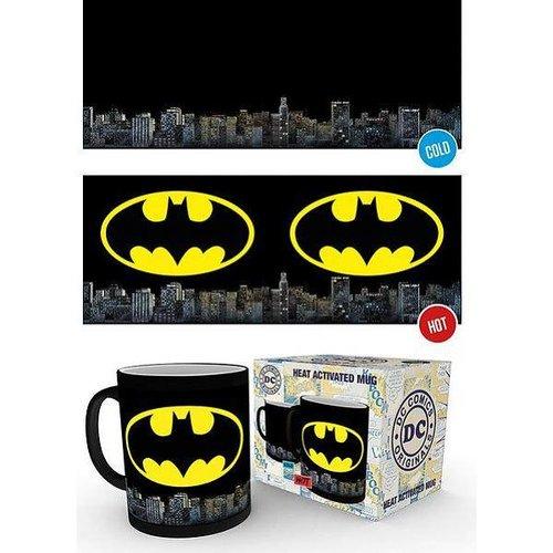 DC Comics Batman Logo - Heat Change Mug