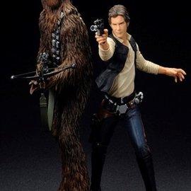 Artfx+ Star Wars: Han Solo & Chewbacca Artfx+ Statue