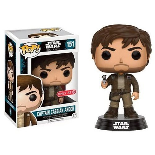 FUNKO Pop! Star Wars: Rogue One - Captain Cassian Brown Jacket LE