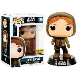 FUNKO Pop! Star Wars: Rogue One - Jyn Erso Hooded LE
