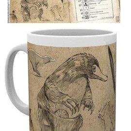 Hole In The Wall Fantastic Beasts: Nifflers Mug Fantastic Beasts: Nifflers Mug