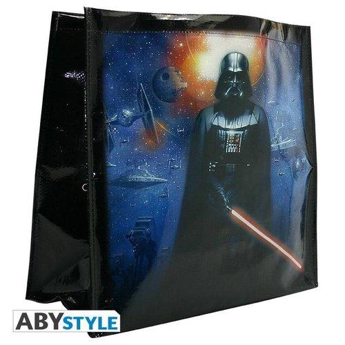 """Abysse Corp STAR WARS - Shopping Bag - """"Yoda Darth Vader"""""""