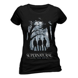 CID Supernatural: Group Outline T-Shirt