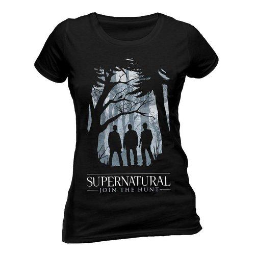 CID Supernatural: Group Outline T-Shirt