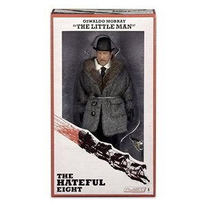 NECA The Hateful Eight - Oswaldo Mobray (The Little Man) - 8 Inch Clothed Figure