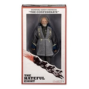 NECA The Hateful Eight - General Sandy Smithers (The Confederate) - 8 Inch Clothed Figure