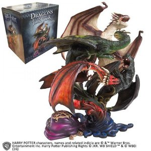 The Noble Collection Harry Potter: Dragons of The First Task Sculpture