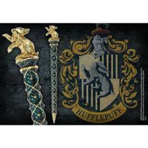 The Noble Collection Harry Potter - Hogwarts House Pen - Hufflepuff