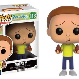 FUNKO Pop Cartoons: Rick and Morty - Morty